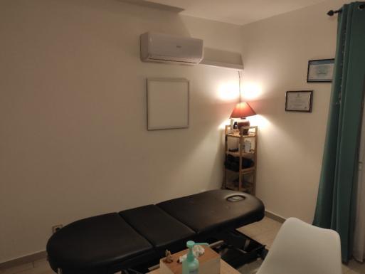 séance de chiropraxie